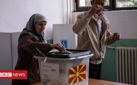 103636504 049665858 1 - Macedonia referendum: Polls close name change vote