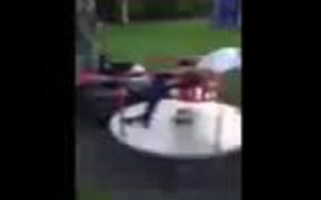 p06l70lm - Boy hurt in 'stupid' YouTube roundabout stunt attempt