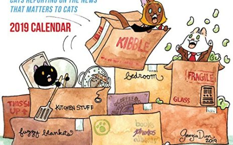 Breaking Cat News 2019 Wall Calendar - Breaking Cat News 2019 Wall Calendar