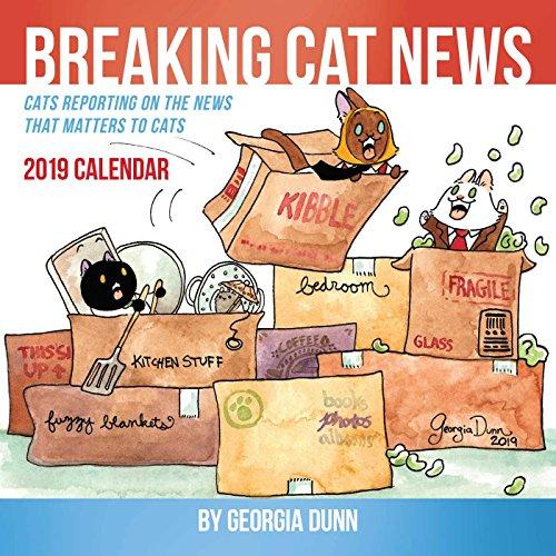 Breaking Cat News 2019 Wall Calendar - Breaking Cat News 2019 Wall Calendar