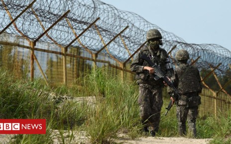 103643781 gettyimages 483542422 - Koreas begin clearing landmines from heavily fortified border