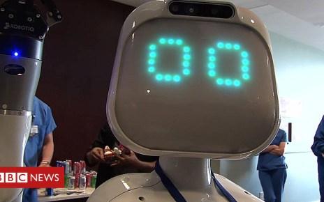 103676238 p06mrwqx - Meet Moxi - the hospital robot helping nurses