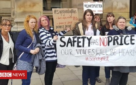 103706303 protest - Removing school bus chaperones in Birmingham 'dangerous'