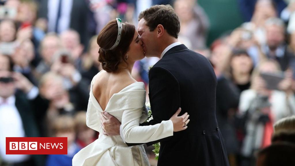 103836709 hi049918370 - Stars at Princess Eugenie's wedding