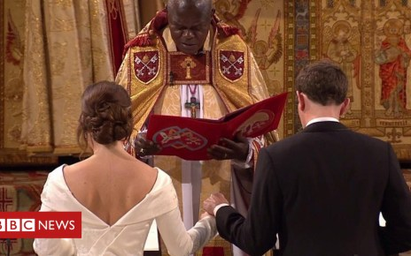 103838882 p06npc83 - Princess Eugenie and Jack Brooksbank marry in Windsor