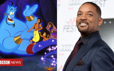103842373 comp - Aladdin: Can Will Smith follow in Robin Williams' Genie-us footsteps?