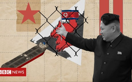 103871223 p06nxlbn - Reality Check: How is North Korea evading sanctions?