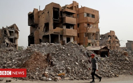 103914767 gettyimages 1052338464 - Who will help rebuild the city of Raqqa?