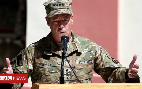 103917558 049009688 - US commander survives Afghan gun attack but police chief dies