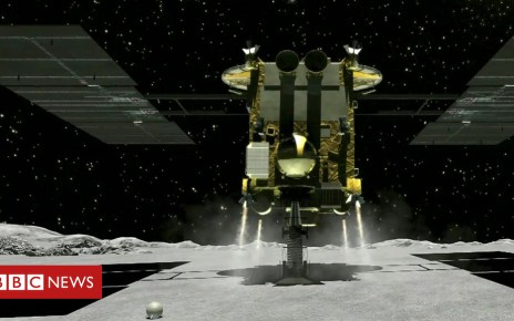 103928805 p06p9sxt - Asteroid pioneers: The team who put rovers on a space rock