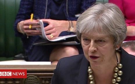 103965861 p06pkyr8 - Theresa May statement on UK-EU talks on Brexit agreement