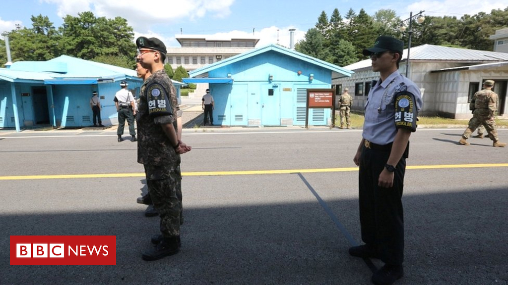 103966583 049107106 1 - Koreas to remove guns and guard posts from Panmunjom 'truce town'