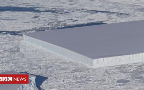 103973782 mediaitem103973781 - Nasa photographs rectangular iceberg