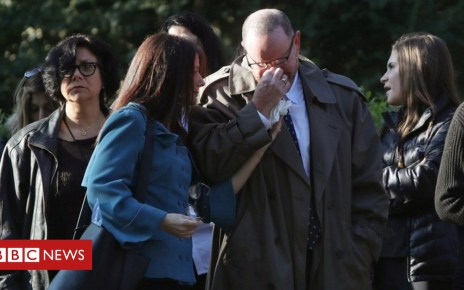 104103654 tv050293104 - Pittsburgh shooting: First of 11 funerals held for victims