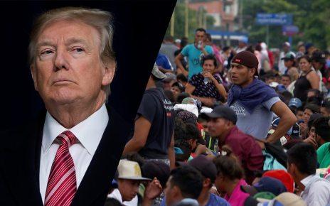 p06pp2t1 - US to 'deploy 800 troops to border' ahead of caravan