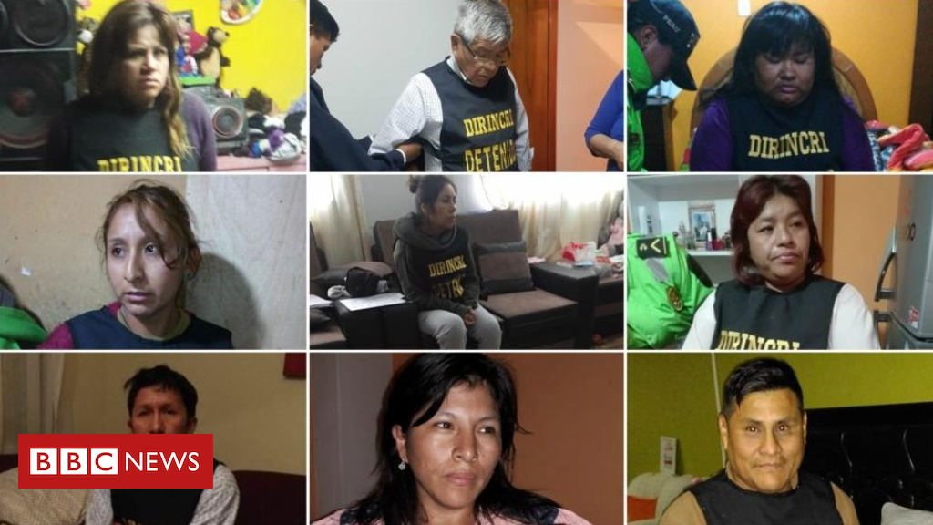 104207293 fiscalia - Peru 'baby trafficking ring': Ex-police chief held