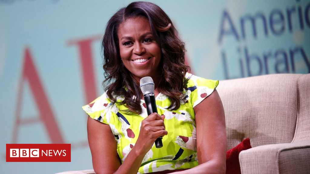 104227288 michelleobama gettyimages 981559824 - Thousands try to get tickets for Michelle Obama's London talk