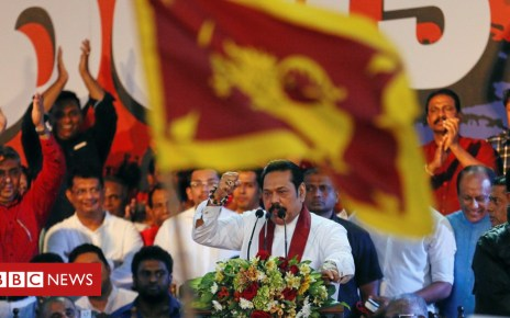104236427 9d3938ff c4a4 4599 bcd2 c55a35ba9271 - Mahinda Rajapaksa: Return of Sri Lanka's wartime strongman