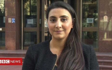 104244461 rehana - Female Afghan barrister 'used to discrimination'