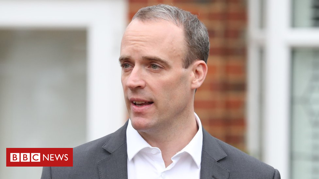 104386105 hi050621551 - Brexit: UK not standing up to Brussels bullies, says Raab