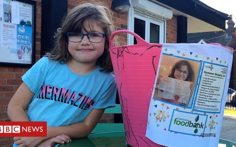 104415367 p06sbbhh - Colchester junior parkrunner takes on food bank charity challenge