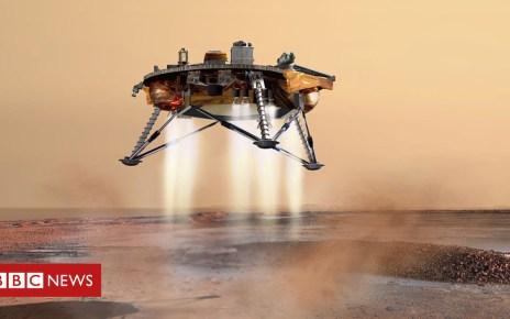 104438651 1200px phoenix landing - InSight: Nasa's Mars mission on target for landing
