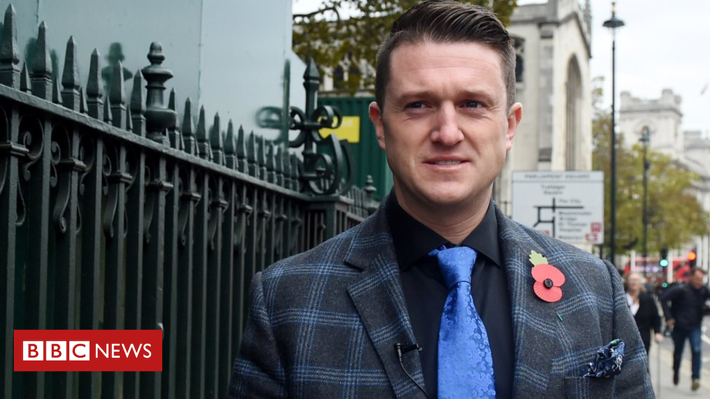 104450486 tommyrobinson epa - Tommy Robinson to advise UKIP leader Gerard Batten