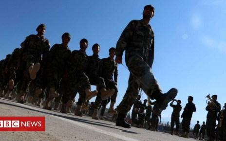104456482 afghanarmy - Afghan army mosque blast leaves many dead