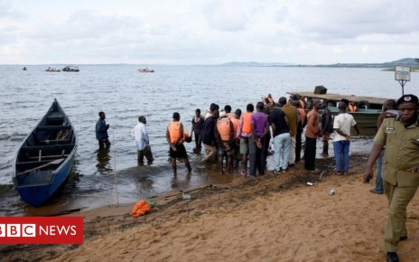 104478853 mediaitem104478850 - Uganda party boat capsizes on Lake Victoria, killing 29