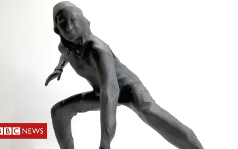 104488657 messenger - Plymouth theatre's bronze sculpture will be 'UK's largest'