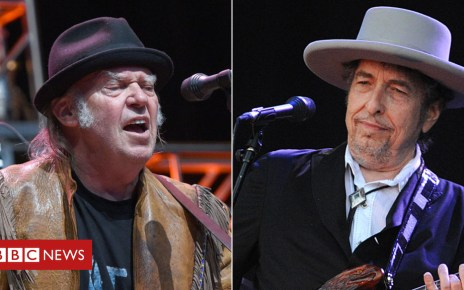 104492380 youngdylan getty - Bob Dylan and Neil Young co-headline UK festival