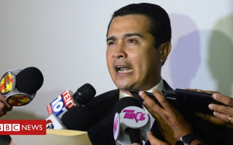 104508640 gettyimages 654230486 - Honduran president's brother accused of drug trafficking