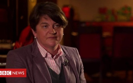 104510170 p06sz44r - Arlene Foster says PM has given up on 'better deal' but 'I have not'