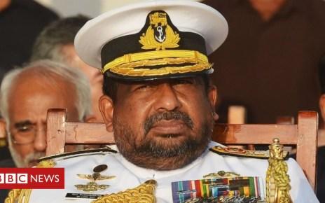 104521140 26571c51 e151 41b9 85a3 d6e441f5262b - Ravindra Wijegunaratne: Sri Lanka defence chief held over murders