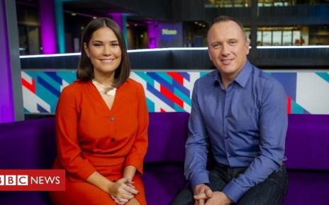 104522216 rebeccaandmartin - BBC Scotland's Nine news will show 'world through Scottish eyes'