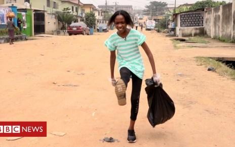 104548132 ecogirlstill - 'Miss Environment': The 11-year-old girl 'saving Lagos'