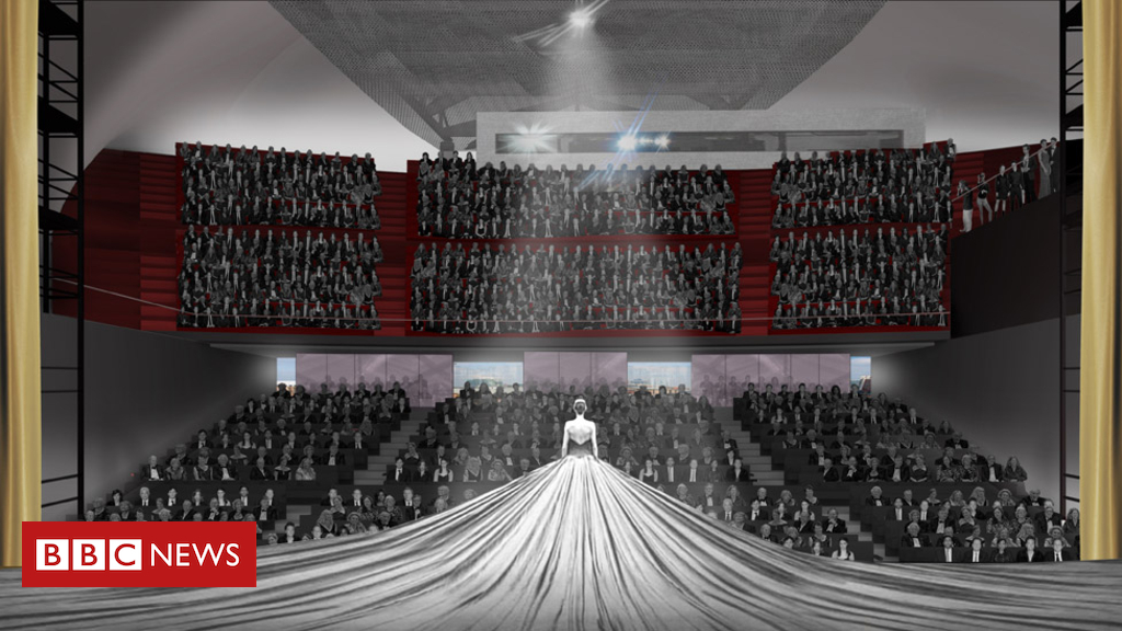 93537379 inside theatre view - Cost of Manchester arts venue rises by £20m