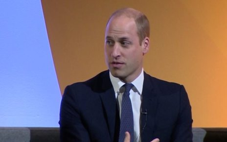 p06scbnr - Prince William speaks about 'traumatic' air ambulance callouts