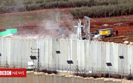 104608552 503a7b12 cfab 4987 8df4 64cc1dd8ed49 - Israel urges UN action over Hezbollah 'attack tunnels'