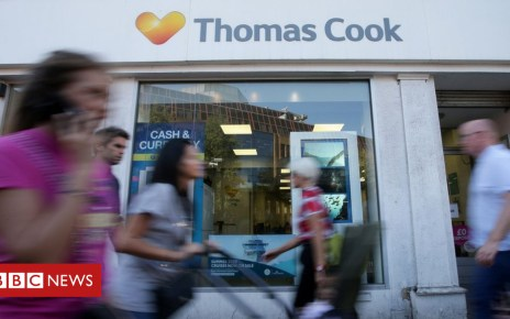 104613323 thomascookshopafp - Thomas Cook shares fall nearly 60% in eight days