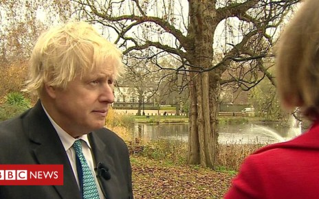 104628682 p06tr8rr - Boris Johnson: EU makes 'predatory claim' on Northern Ireland