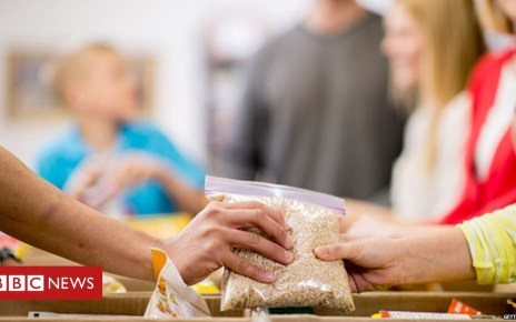 104634856 foodbankgetty - One million children face 'Dickensian poverty'