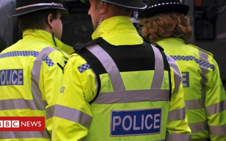 104640318 policegen - Police investigating right-wing activity arrest three men on terror charges