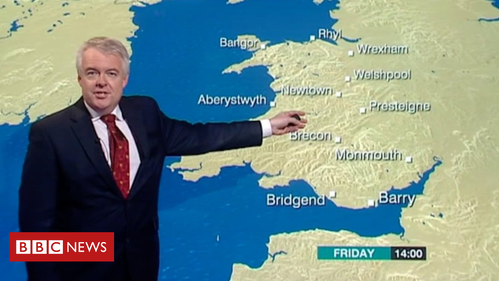 104687674 carwynweather1 - First minister's wife tips him for weather job