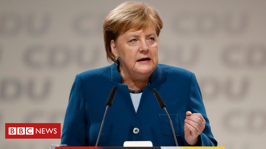 104688563 merkelcduthisafp - Germany's Merkel bids emotional farewell to CDU party