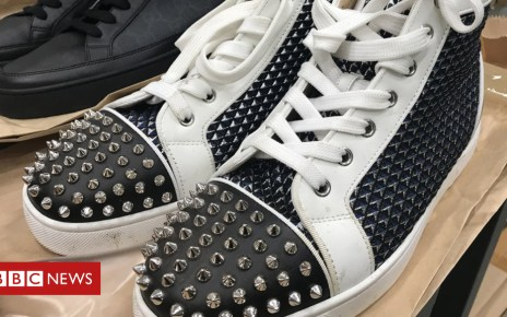 104698485 christianlouboutinhightops - Police to sell criminal's designer trainer haul
