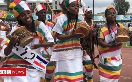 104731826 et2 - In pictures: Ethiopians drum for unity