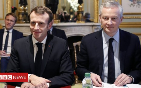 104739717 051128544 1 - France 'Gilets Jaunes': Spending cuts to fund Macron concessions