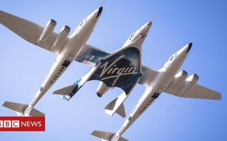 104763770 vg third powered flight   take off hd ready - Virgin Galactic aims to reach space