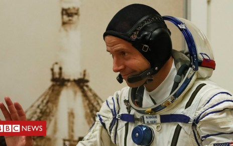 104768442 p06vh7lz - Astronaut Nick Hague ready for second space flight attempt